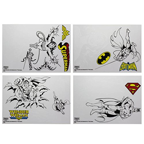 Paladone DC Comics Superhero Vinyl Decals