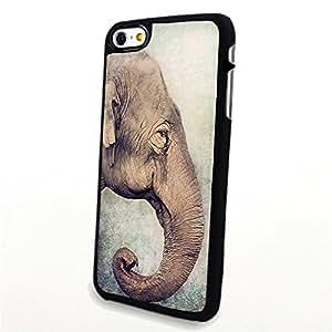 Generic Phone Accessories Matte Hard Plastic Phone Cases Cartoon Animal Elephant fit for Iphone 6 Plus
