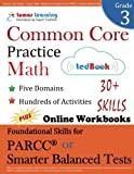 Common Core Practice - Grade 3 Math: Workbooks to Prepare for the PARCC or Smarter Balanced Test: CCSS Aligned (CCSS Standards Practice) (Volume 2)