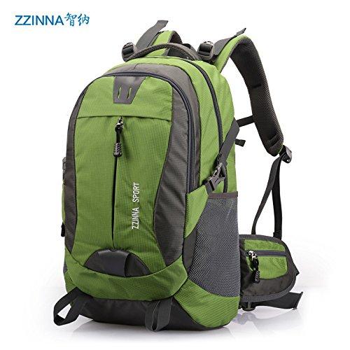 Mountaineering Bag Outdoor Männer und Frauen Schulter Rucksack große Kapazität Wanderpackage Bergsteigen Taschen , blau