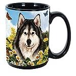 Imprints Plus Dog Breeds (A-D) Alaskan Malamute 15-oz Coffee Mug Bundle with Non-Negotiable K-Nine Cash (alaskan malamute 009) 7