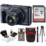 Canon Powershot SX730 Digital Camera Bundle (SX730 32GB, Black)