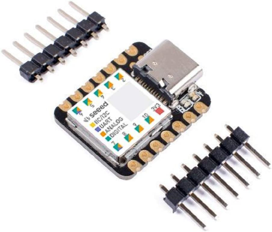 100/% Arduino IDE Compatible Designed for Projects Need Arduino Micro,1 pcs with Rich Interfaces Seeeduino XIAO The Smallest Arduino Microcontroller Based on SAMD21
