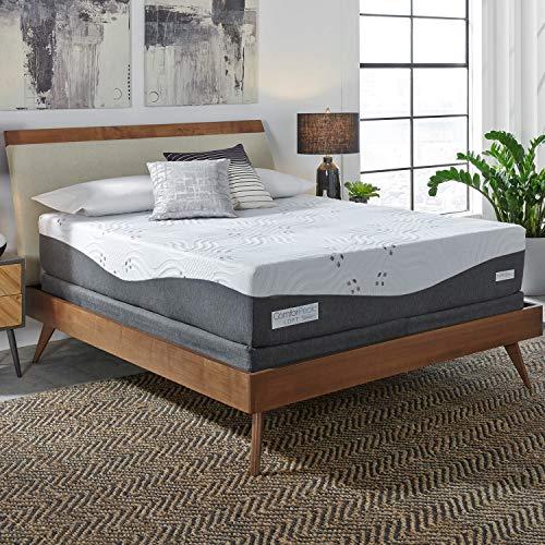 Simmons Beautyrest ComforPedic Loft from BeautyRest 14-inch Queen-Size NRGel Memory Foam Mattress...