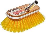 Shurhold 955 6-Inch Deck Brush with Medium Yellow Polystyrene Bristles