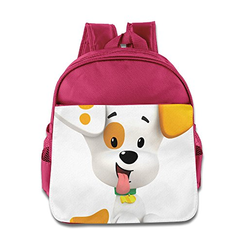 Bubble Guppies Bubble Puppy Toddler School Backpack Pink]()
