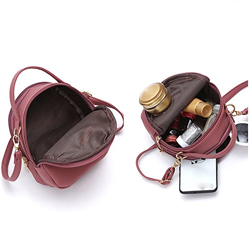 Fashion Handbag Watermelon Bag Shopping Messenger Soft Robemon Style Shoulder Casual Crossbody Red Bag Women Satchel Rucksacks w6YxE4C1q