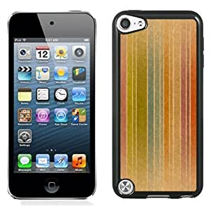 New Personalized Custom Designed For iPod Touch 5th Phone Case For Colored Vintage Stripes Phone Case Cover