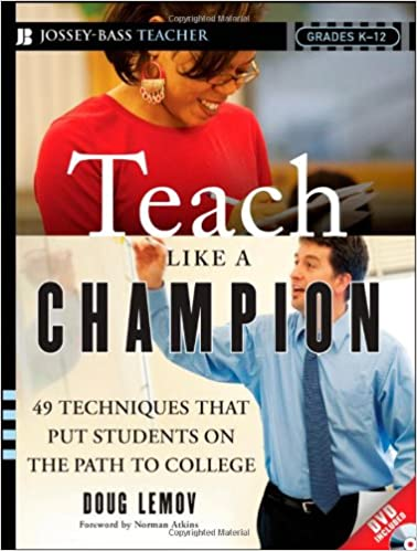 Amazon Teach Like A Champion 49 Techniques That Put Students