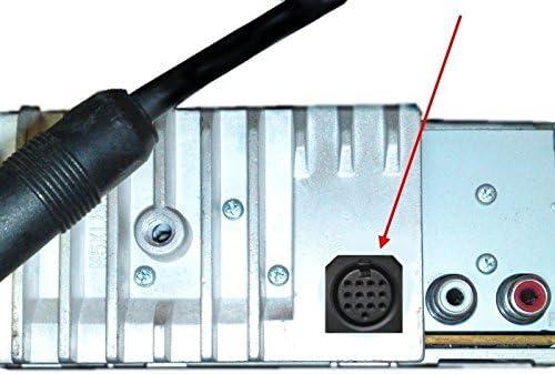 Kenwood Bluetooth Mp3 Aux Line In Adapter Kabel Cd Stecker Din 13 Pin Autoradio Elektronik