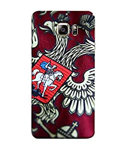 ColorKing Football Russia 12 Multi Color shell case cover for Samsung Note 5