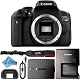 Canon EOS Rebel T6i 24.2MP Digital SLR Camera Retail Packaging Bundle (Body Only)