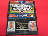 Astros 2017 World Series Champions 2 Card Collector Plaque #2 w/8x10 Team Photo
