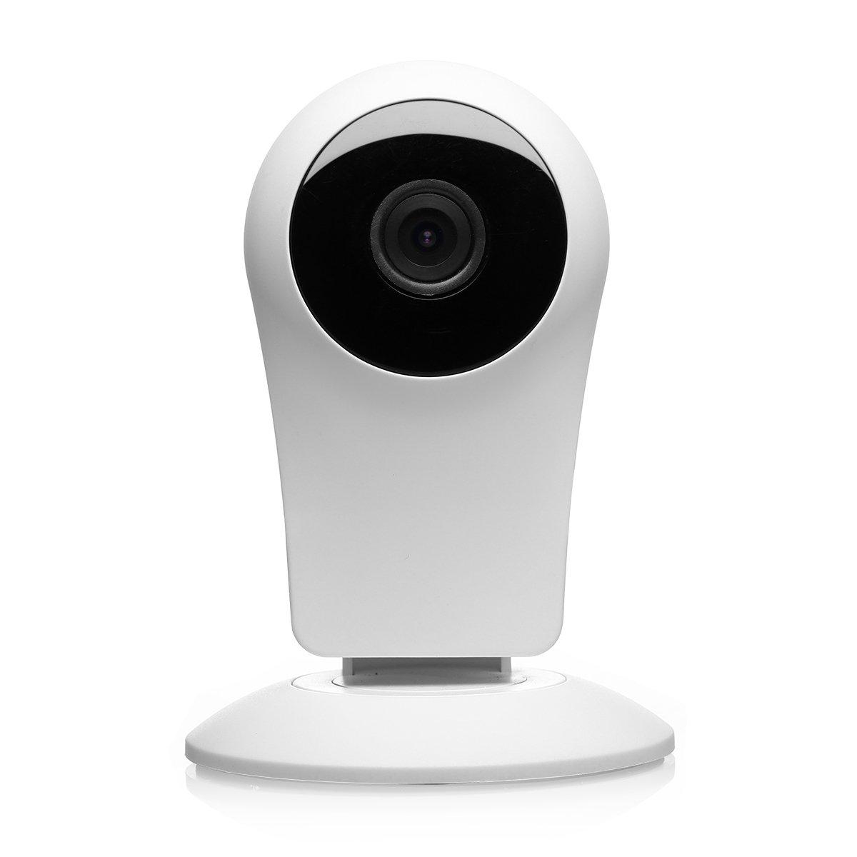 IP Cámara de Vigilancia Wifi, EMAX 720P HD IP Cámara de Seguridad Visión Nocturna, Audio Bidireccional, Alarma de Detección de Movimiento, Monitor para hogar, Niños, Mascotas