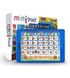 """Learning Pad Fun Kids Tablet with 6 Toddler Learning Games by Boxiki Kids. Early Child Development Toy for Number Learning, Learning ABCs, Spelling, """"Where Is?"""" Game, Melodies. Educational Toy"""