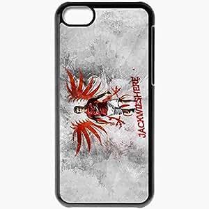 Personalized iPhone 5C Cell phone Case/Cover Skin Arseblog Jack Wilshere English Premier League 0809 UEFA Arsenal Football Black
