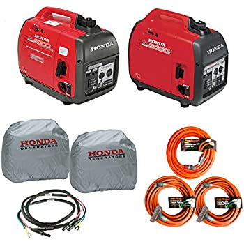 Honda EU2000i and EU2000ic Companion Inverter Generator Parrallel Combo Kit