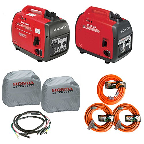 Honda EU2000i and EU2000ic Companion Inverter Generator Parrallel Combo guide Valuable Price