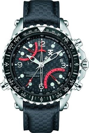 montre chronographe homme bracelet cuir