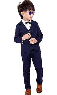 c0c03b538906d SIJIYIREN キッズ フォーマル スーツ 男の子 スーツセット 紳士服 発表会 入園式 入学式 卒業