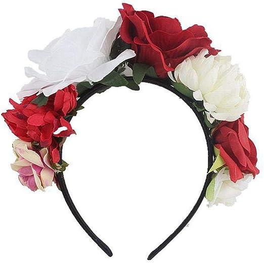 Beautiful Flower Crown// Garland Hair// Head Band NEW Choice of Colours