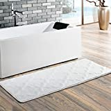 Best Rug Bathrooms - Moroccan Patten Extra Long Bathroom Rug, Uphome Microfiber Review
