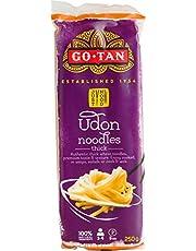 Go-Tan Fideos de Trigo Auténtico Grosor de Espaguetis de Trigo Y Consistencia Premium - 10 x 250 Gram