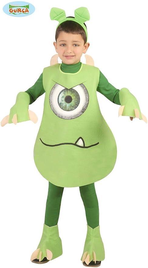 Disfraz monstruo verde para niños: Amazon.es: Juguetes y juegos