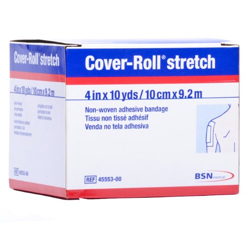 Coverlet Cover Roll Stretch Adhesive Bandage 4 Inch