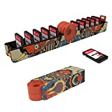 Gator Game Card Case, Crocodile Mouth Game Card Storage with 11 Game Card Slots Card Holder for Nintendo Switch Kyi Warrior