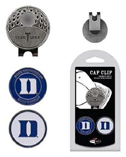 Team golf ncaa ball marker cap clip duke