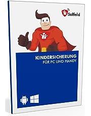 Salfeld Kindersicherung: Windows und Android Handy Kinderschutz Jugendschutz App mit Überwachung Zeitbegrenzung App Kontrolle und Internet Filter gegen Handysucht (1 Gerät / 24 Monate)