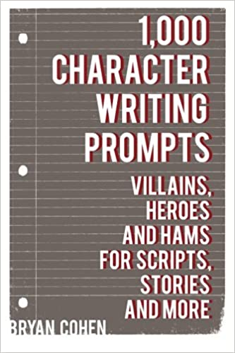 amazon 1 000 character writing prompts villains heroes and hams