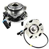 MOTORMAN 513124 Front ABS Wheel Hub and Bearing Set - Both Left and Right - Pair of 2