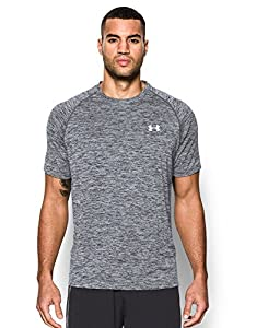 Under Armour Men's Tech Short Sleeve T-Shirt, Black (009), Large