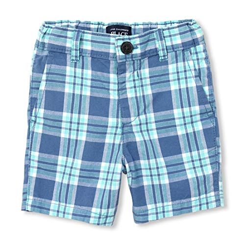 The Children's Place Baby Boys Printed Bermuda Shorts, Hudson Bay, 12-18MOS Baby Boys Bermuda Shorts