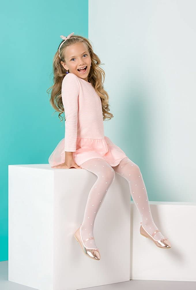 Kids tights girls charming patterns different models 4-12 years by Gabriella