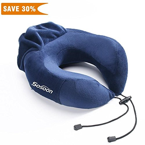 Travel Pillow Sosoon Memory Portable Washable