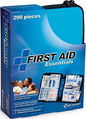 First Aid Only All Purpose First Aid Kit, Soft Case With Zipper, 299 Piece Kit