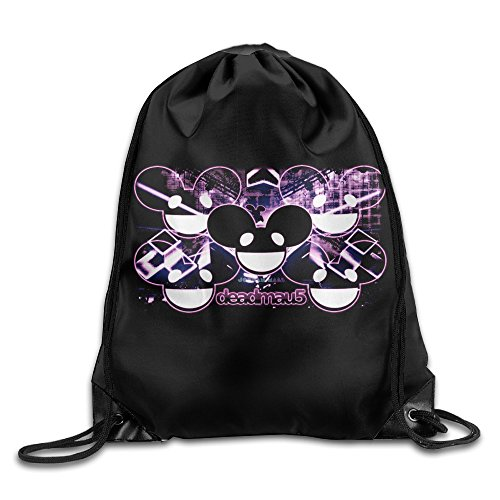 QIDAMIAO Deadmau5 Drawstring Backpack/Bags (Deadmau5 Head Mask)