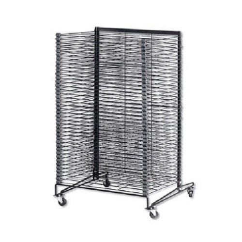 School Specialty Mobile Steel Drying Rack - 26 1/2 x 27 x 43