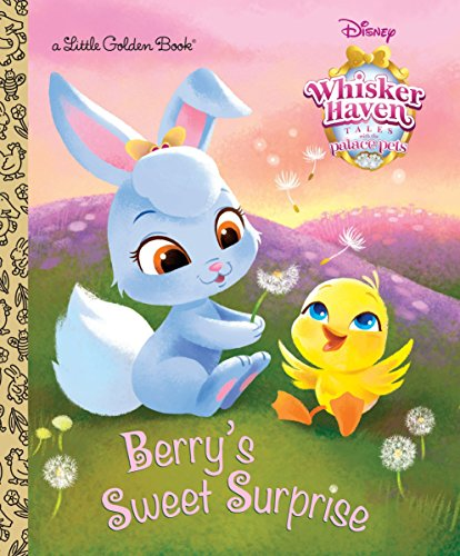 Palace Pets Coloring Pages (Berry's Sweet Surprise (Disney Palace Pets: Whisker Haven Tales) (Little Golden)