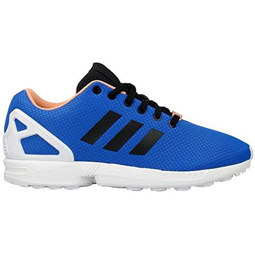 Adidas - ZX Flux - Couleur: Blanc-Bleu-Noir - Pointure: 46.6