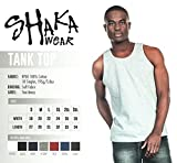 Men's Basic Sleeveless Tank Top Cotton Solid Muscle