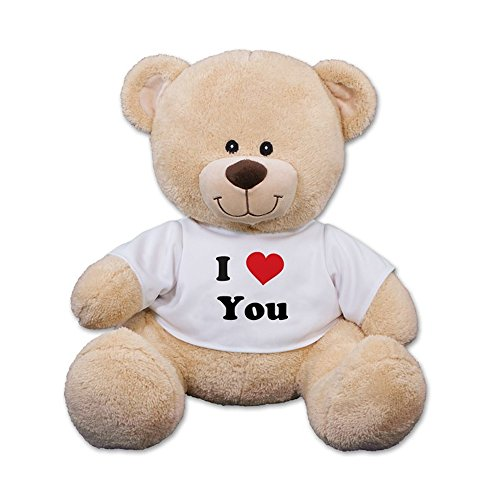 Love Teddy - GiftsForYouNow I Love You Teddy Bear with Shirt