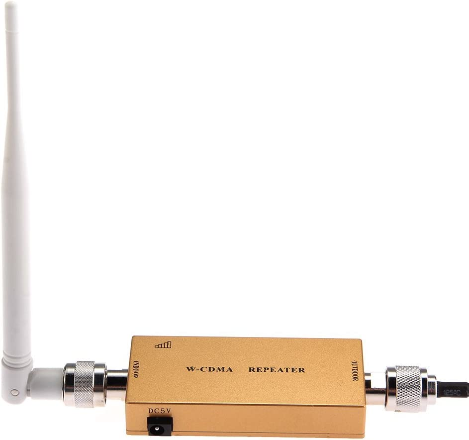 SODIAL(R) SODIAL(R)Amplificador Amplificador de Senal del Repetidor 3G UMTS WCDMA por Celular + Antena Oro