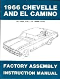 1966 CHEVROLET CHEVELLE EL CAMINO Assembly Manual Book