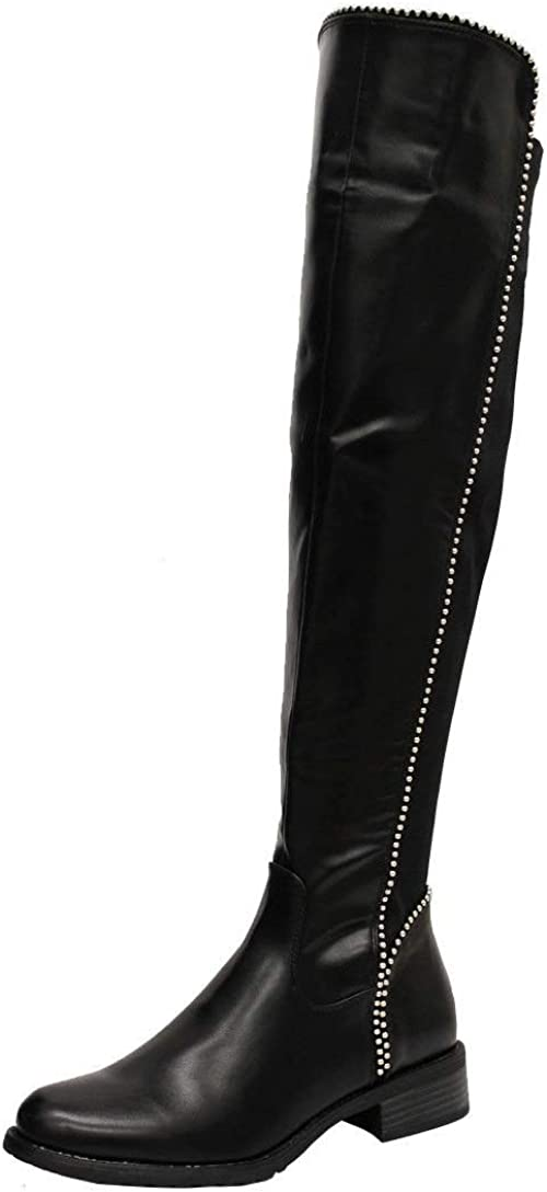 Womens Over The Knee Boots | Block