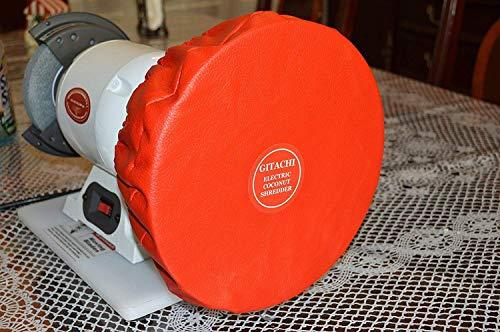 Gitachi Electric Coconut Shredder Scraper Grater 2 in 1 High Speed 120 Volt, 1/2 Hp, 3400 Rpm, 18 Lbs Weight.