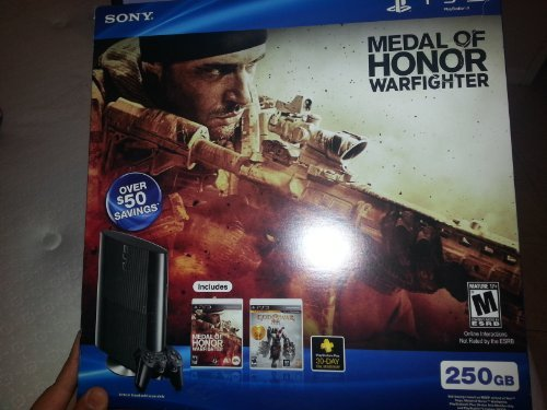 (PS3 Slim 250GB Medal of Honor: Warfighter Bundle (PlayStation 3))